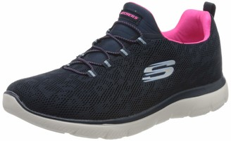 Skechers Women's Summits Leopard SPOT Trainers