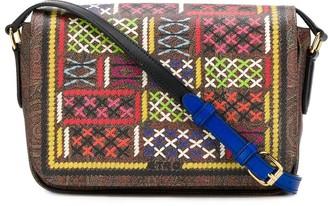 Etro Stitched Detail Shoulder Bag