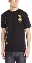 Crooks & Castles Men's Knit Crew T-Shirt - Established Crooks