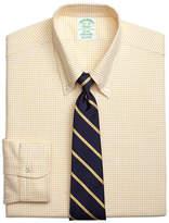 Brooks Brothers Regent Fit Original Polo® Button-Down Oxford Small Windowpane Dress Shirt