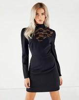 Fashion Union Lace Bodycon Dress
