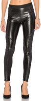 David Lerner Quilted Vegan Leather Legging