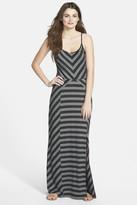 Olive + Oak Olive & Oak Mix Stripe Knit Maxi Dress