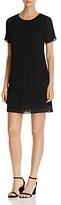 MICHAEL Michael Kors Short Sleeve Pleat Dress