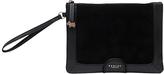 Radley Linton Street Leather Wristlet Clutch Bag, Black