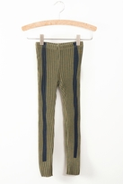 Bobo Choses Green Stripe Leggings