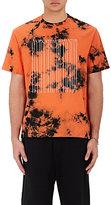 Alexander Wang Men's Barcode Logo Tie-Dyed Jersey T-Shirt