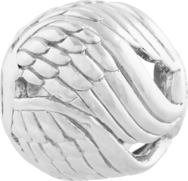 Thomas Sabo Women Men-Bead Angel's Wing Karma Beads 925 Sterling silver K0224-001-12