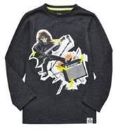 F&F Punk Monkey Long Sleeve T-Shirt, Boy's