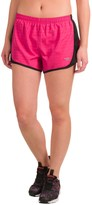 Pony Tonal-Stripe Running Shorts - Built-In Briefs (For Women)