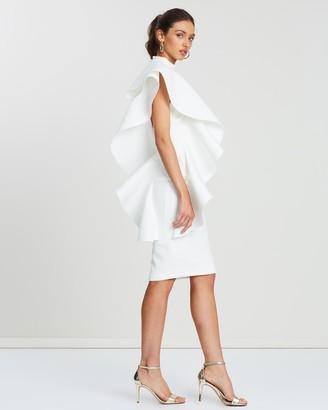 Loreta - Women's White Mini Dresses - Lorenzo Dress - Size One Size, XS at The Iconic
