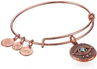 Alex and Ani Women's Evil Eye Charm Bangle Bracelet