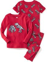 Old Navy 3-Piece Dinosaur Graphic Sleep Set for Toddler & Baby