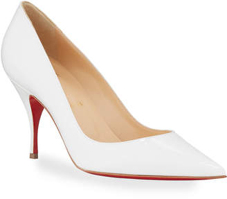 Christian Louboutin Clare Red Sole Ankle Pumps