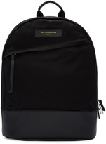 WANT Les Essentiels Black Canvas Kastrup Backpack