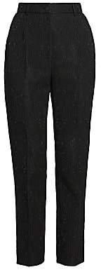Dolce & Gabbana Women's Straight-Leg Brocade Pants