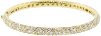 Kwiat Cobblestone Diamond Bangle