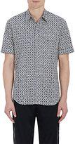 Maison Margiela Men's Arabesque-Print Cotton Shirt