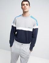 Adidas Originals Panelled Crew Neck Sweater