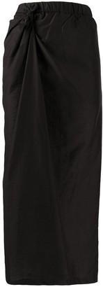 Christian Wijnants Knot Detail Midi Skirt