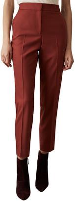 Reiss Eleanor Wool Taper Trouser