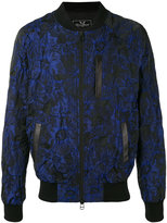 Unconditional floral jacquard bomber jacket - men - Silk/Cotton/Linen/Flax/Polyester - XS
