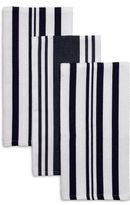 "Sur La Table Striped Kitchen Towels, 28"" x 20"", Set of 3"