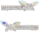 Monsoon 2x Diamante Butterfly Clips