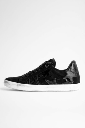 Zadig & Voltaire Zadig Used Flash Star Sneakers