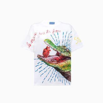 Stella Jean Crocodile Print T-shirt Te0312550101