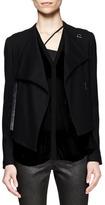 Helmut Lang Sonar Wool Crossover Jacket