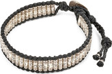 M. Cohen Thai Stamped Sterling Silver Tube Bracelet
