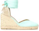 Castaner high heel wedge espadrilles