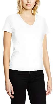 Stedman Apparel Women's Classic-T V-Neck/ST2700 Regular Fit Short Sleeve T-Shirt,(Manufacturer Size:)