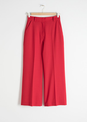 And other stories Tailored Wool Blend Pants