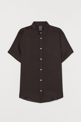 H&M Regular Fit Linen Shirt