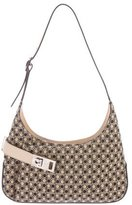 Salvatore Ferragamo Canvas Shoulder Bag