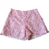 Giamba Pink Shorts for Women