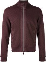 Armani Jeans zipped bomber sweatshirt - men - Cotton/Spandex/Elastane - M