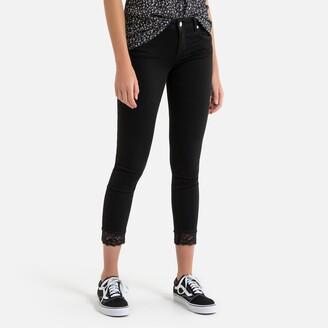"Liu Jo Ideal Bottom Up Skinny Jeans, Length 28"""