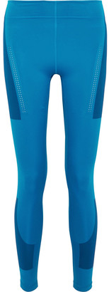 adidas by Stella McCartney + Parly For The Ocean Train Perforated Fitsense+ Climalite Leggings