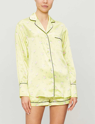 Olivia von Halle Alba silk pyjama set