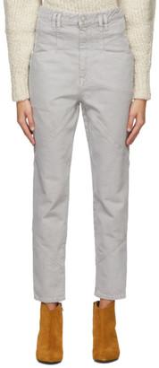 Isabel Marant Grey Nadeloisa Jeans