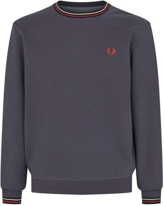 Fred Perry Two Tone Trim Sweater