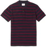 Steven Alan - Slim-fit Striped Cotton-jersey Polo Shirt