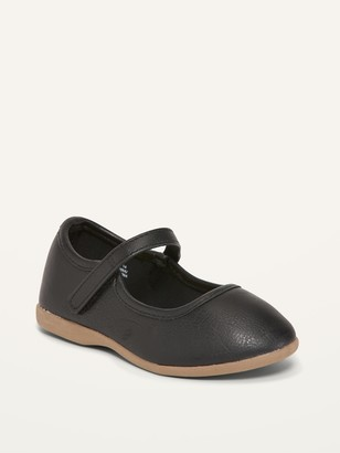 Old Navy Faux-Leather Mary-Janes for Toddler Girls