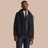Burberry Detachable Hood Packaway Field Jacket