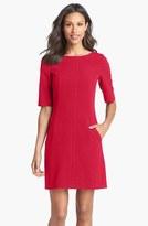 Tahari Petite Women's Seamed A-Line Dress