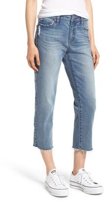 Prosperity Denim Crop Straight Leg Jeans