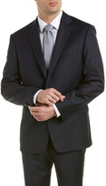 Austin Reed Classic Fit Wool-Blend Suit With Flat Pant